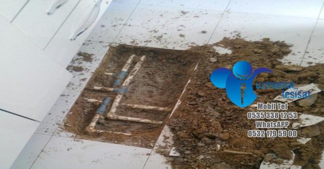 Su Kaçağını Cihazla Bulan Usta   Uzmanlar Tesisat